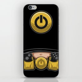 Geek Utility Belt with Belly iPhone Skin