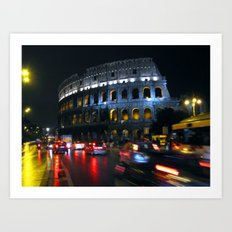 Colosseo: Rome Art Print