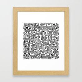 Tell Your Story Framed Art Print