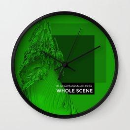 WHOLE SCENE Wall Clock