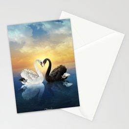 Cisnes Love Stationery Cards