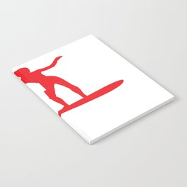 This Hawaii Girl Loves Surfing Winter Swimsuit Clothing Notebook