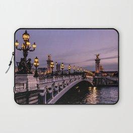 Nights in Paris Laptop Sleeve