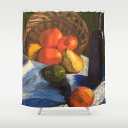 Still Life By Elise Wilson Shower Curtain