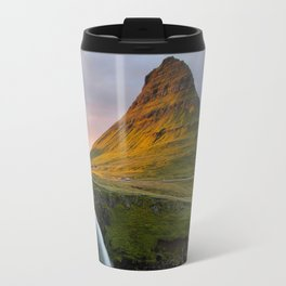 Kirkjufell at Sunset Travel Mug