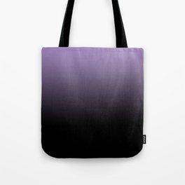 Purple Black Blend Design Tote Bag