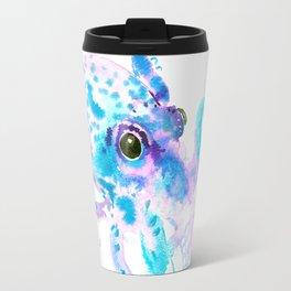 Turquoise Violet Octopus Travel Mug