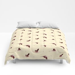 Flying Flamingos 7 Comforters