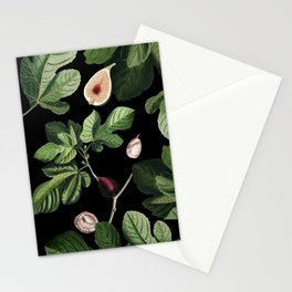 Figs Black Stationery Cards
