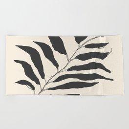 breezy palm Beach Towel