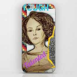 (Black Girl Power - Hidden Figures) - yks by ofs珊 iPhone Skin
