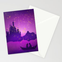 Castle with Lanterns Stationery Cards