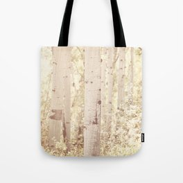 Dreamy Aspen Forest Tote Bag