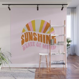 sunshine state of mind, type Wall Mural