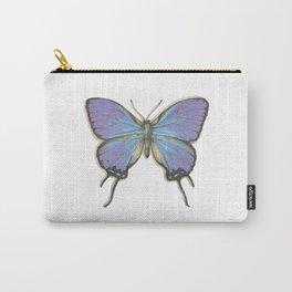 Butterflies: Blue Hairstreak Carry-All Pouch