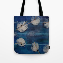 Ballet viewpoints Tote Bag