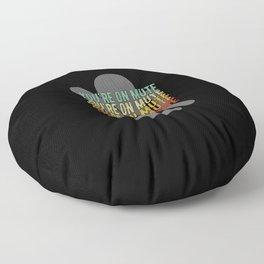 Youre On Mute Floor Pillow