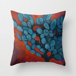 Mexico Cactus Throw Pillow