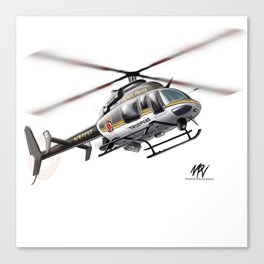 Troopers Bell 407 Canvas Print