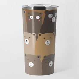Little Cute Gentle Bears Travel Mug