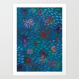 Primordial Sea Art Print