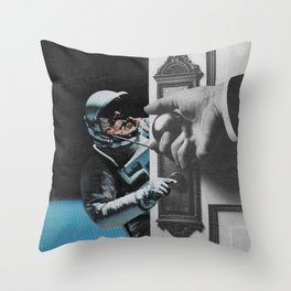 p o i s e & r a t i o n a l i t y Throw Pillow