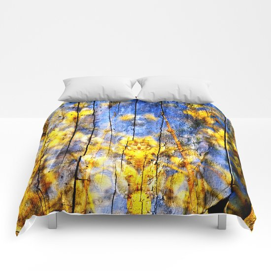 BLUE SYMPHONY of SPRING Comforters