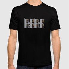 Salk Institute, Louis Kahn - Modern architecture series MEDIUM Black Mens Fitted Tee