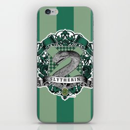 Slytherin Color iPhone Skin