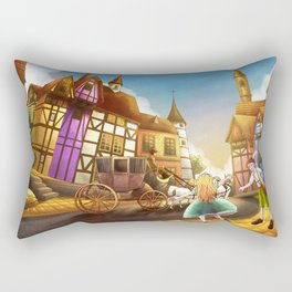 The Bavarian Village Rectangular Pillow