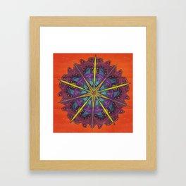 Wish Flower Framed Art Print