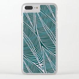 Jungle Print Clear iPhone Case