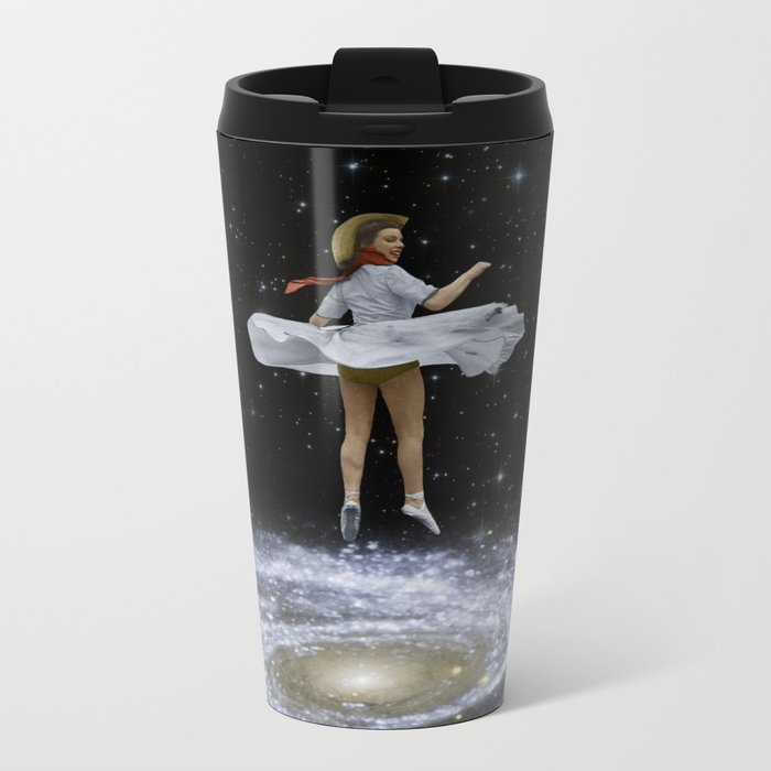 Everybody, Just Swirl! Metal Travel Mug