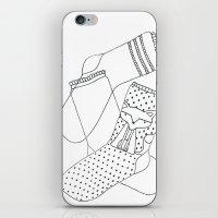 socks iPhone & iPod Skins featuring Socks.  by novacaeli