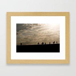 Pilgrims Framed Art Print