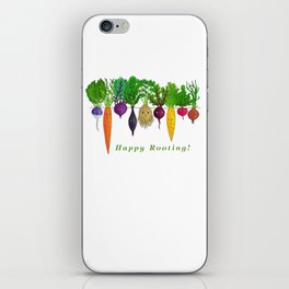 Happy Rooting! iPhone Skin