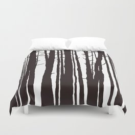The Trees and The Forest Duvet Cover