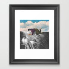perspectives from the roof Framed Art Print
