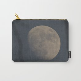 Moon at Three-Quarters Carry-All Pouch