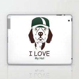 I Love My Hat Laptop & iPad Skin