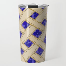 Blueberry Pie Travel Mug