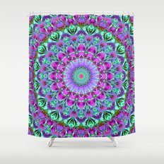 Geometric Mandala G386 Shower Curtain