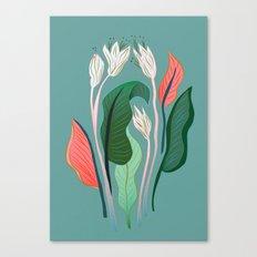 Exotic Dream Flower Canvas Print
