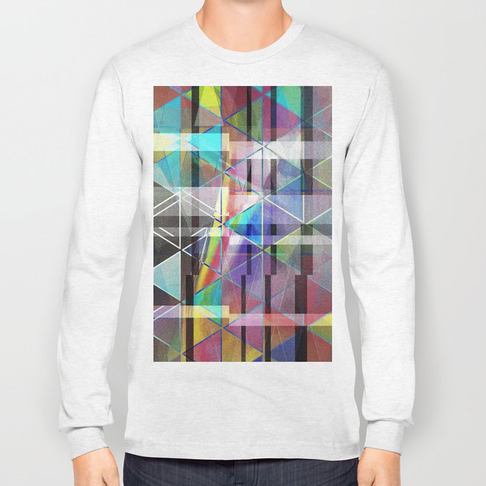 fractour de trigone Long Sleeve T-shirt