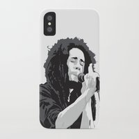 marley iPhone & iPod Cases featuring Marley Music by Mark Lucas