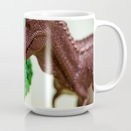 T-Rex & Broccoli Coffee Mug