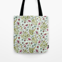 Tropical Rainforest pattern Tote Bag