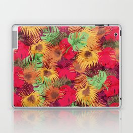 Seamless Pattern of Tropical Leaves Laptop & iPad Skin