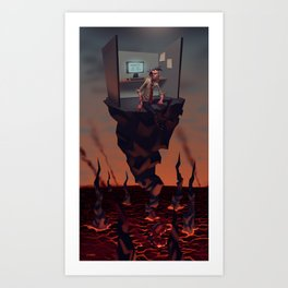 Pillar of Success Art Print