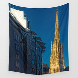 Stephen's Cathedral - Vienna city center Wall Tapestry